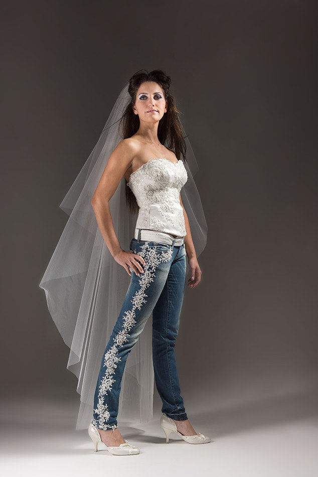 Matrimonio Sposa In Jeans : Shocking jeans collezzione follemente sposa modena e